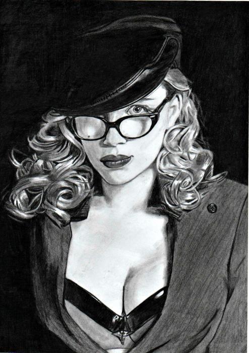 Scarlett Johansson by sunnyelo
